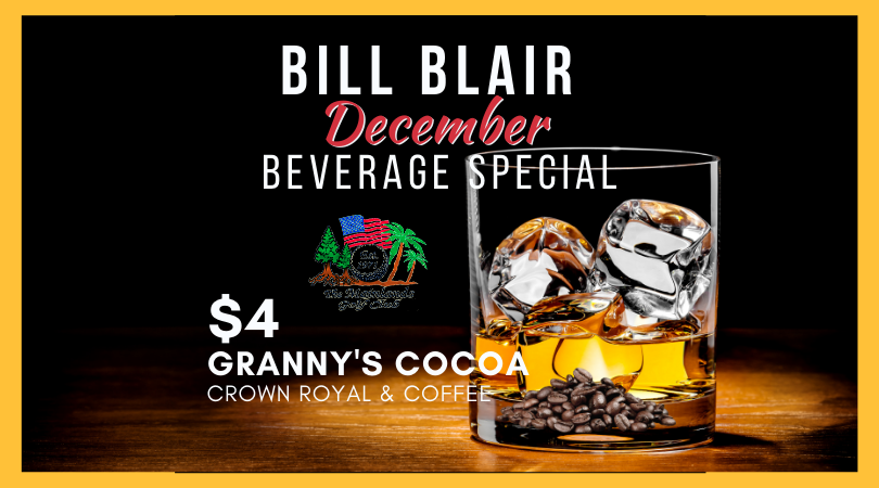 Bill Blair Beverage Special 🍹 December
