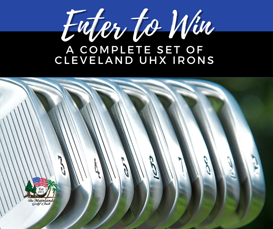 Enter to Win 🎉  a Complete Set of Cleveland UHX Irons 🏌️♂️