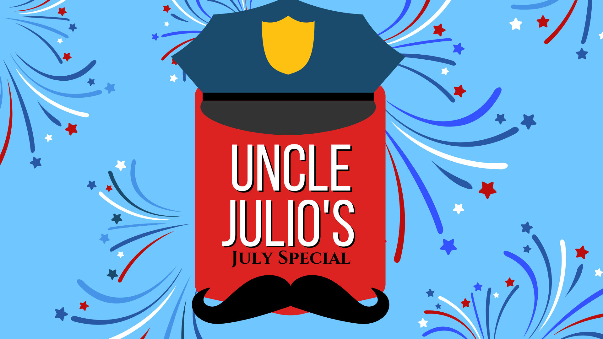 Uncle Julio's July Special 🇺🇸